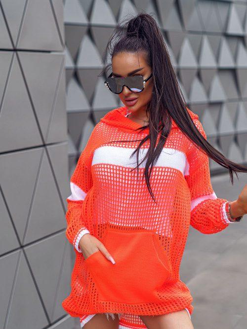 pomaranczowy-neonowy-sweterek-damski-wkładany-przez-glowe-02
