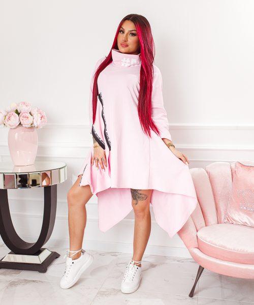 pudrowa-rozowa-sukienka-damska-asymetryczna-z-suwakami-i-stojka (5)