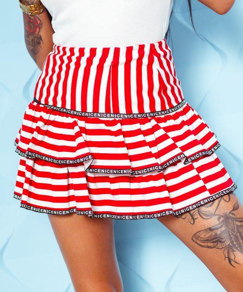 bialo-czerwona-spodniczka-damska-z-falbankami-w-paski (2)