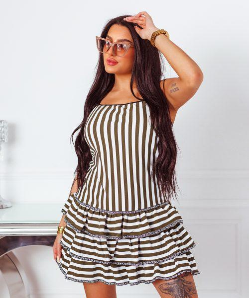 bialo-khaki-sukienka-damska-z-falbankami-na-ramiaczkach (2)