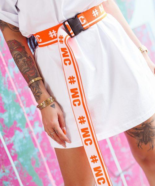 pomaranczowy-neonowy-pasek-damski-guma-#mc (1)