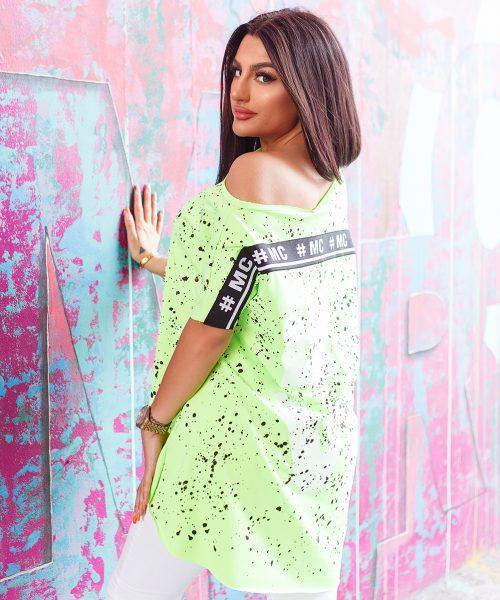 zielona-neonowa-bluzka-damska-z-dekoltem-w-lodke-w-kolorwe-plamki-z-napisem-love-1.jpg