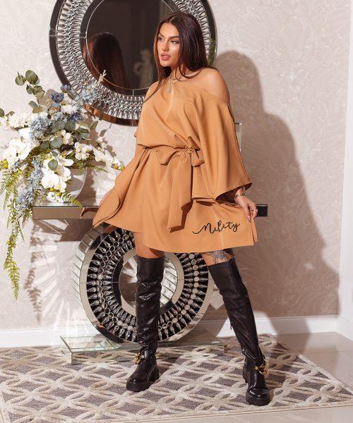 camelowa-sukienka-damska-wiazana-z-pieknym-haftem-na-dole-miss-city (2)
