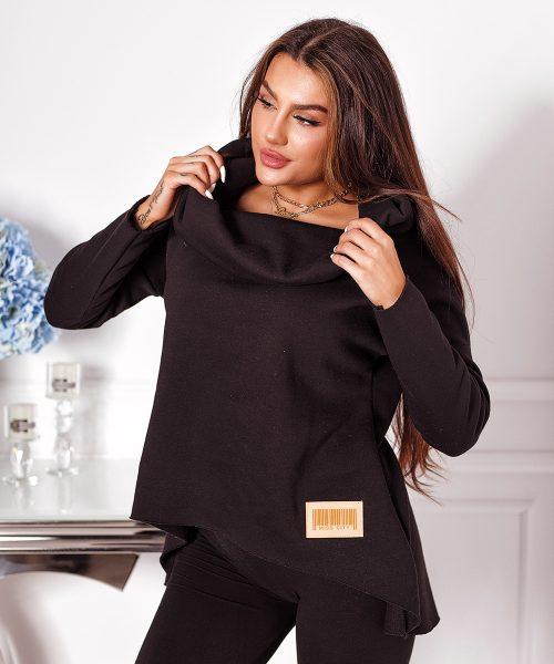 czarna-bluza-damska-krotka-gladka-z-duzym-kolnierzem (3)