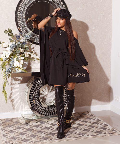 czarna-sukienka-damska-wiazana-z-pieknym-haftem-na-dole-miss-city (2)