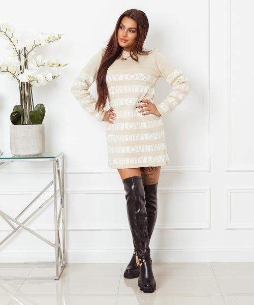 jasnobezowy-sweter-damski-dlugi-z-paskami-i-napisami-love-miss-city (2)