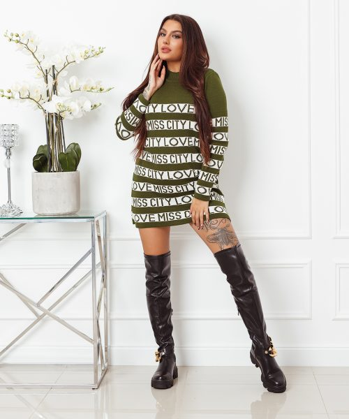 khaki-sweter-damski-dlugi-z-paskami-i-napisami-love-miss-city (6)